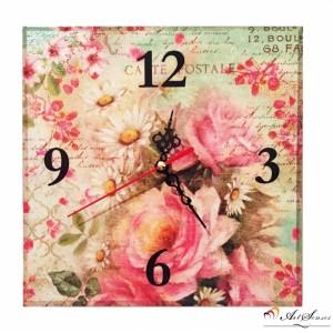 """Стенен часовник """"Пролет"""""""