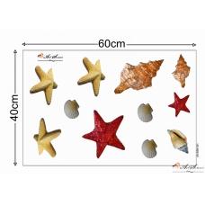 3d Стикер за под - Море