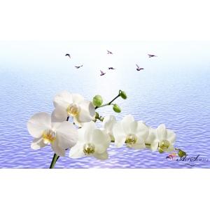 3d Стикер за стена - Орхидеи