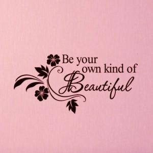 "Текст ""Be Beautiful"""