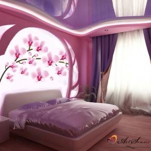 "Стикер за стена ""Орхидеи"""