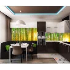 Стикер пано за кухня - Бамбук
