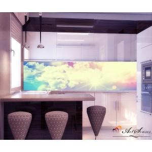 Стикер пано за кухня - Облаци