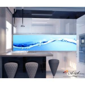Стикер пано за кухня - Вода 1