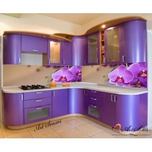Стикер пано за кухня - Орхидеи