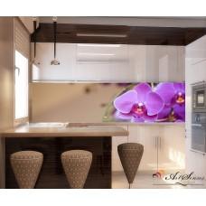 За кухня стикер пано - Орхидеи
