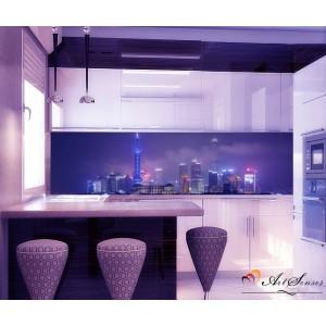 Стикер пано за кухня - Град 3
