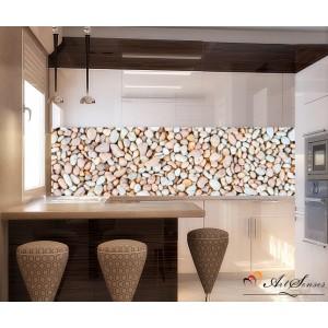 Стикер пано за кухня - Камъчета