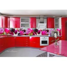 Стикер за кухня пано - Лалета 3