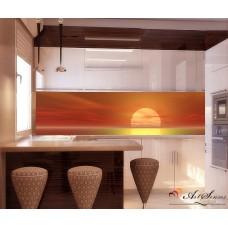 Стикер за кухня пано - Залез 2