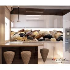 Стикер за кухня пано - Камъчета 2