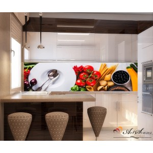 Стикер за кухня пано - Кухня 3