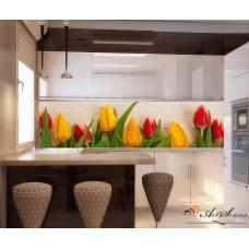 Стикер пано за кухня - Лалета 4