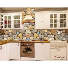 Стикер пано за кухня - Камък 3