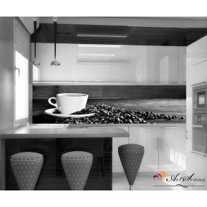 Пано - Кафе 2 в черно-бяло