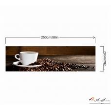 Стикер пано за кухня - Кафе 2