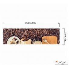 Стикер пано за кухня - Кафе 3