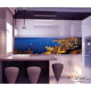 Стикер пано за кухня - Град 6 Монако