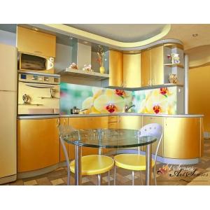 Стикер пано за кухня - Орхидеи 6