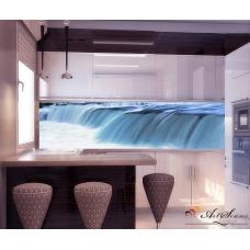 За кухня стикер пано - Водопад 2