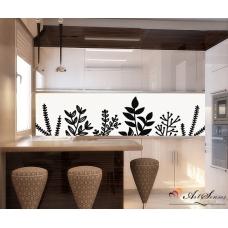 Стикер пано за кухня - Флора 2