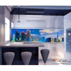 Стикер пано за кухня - Град 7 Дубай