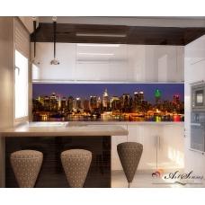 Стикер пано за кухня - Град 8 Ню Йорк