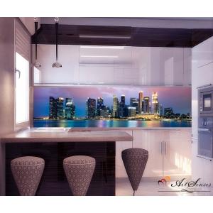 Стикер пано за кухня - Град  Сингапур