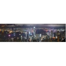 За кухня Стикер пано - Град Хонг Конг