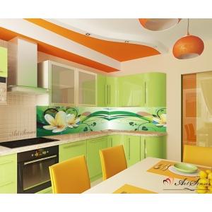 За кухня стикер пано - Водни лилии