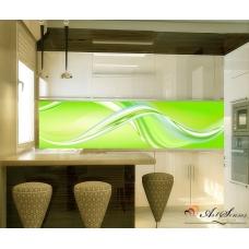 Пано - Абстракция в зелено