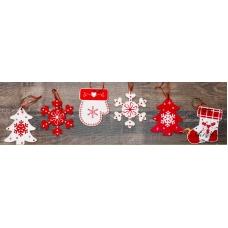 Стикер пано за стена Коледа