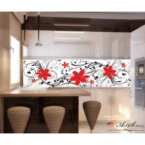 Стикер пано за кухня - Флора 4