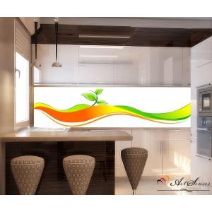 Стикер пано за кухня - Абстракция