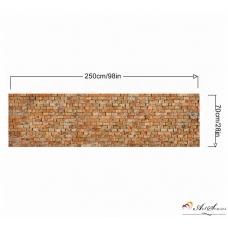 Стикер за стена пано - Тухли 1
