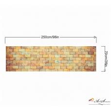Стикер за стена пано - Тухли 2