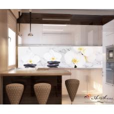 Стикер пано за кухня - Орхидеи 10