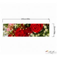 Стикер за кухня пано - Червени рози