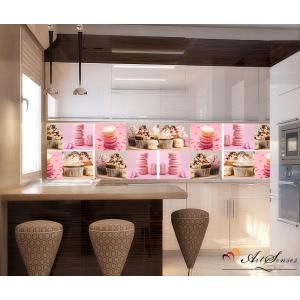 Стикер пано за кухня - Десерт 4