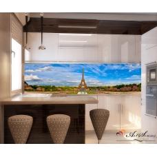 Стикер пано за гръб на кухня - Париж 3
