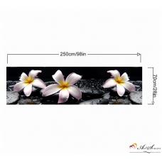 За кухня стикер пано - Орхидеи 13
