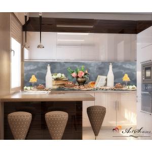 Стикер пано за кухня - Винтидж 3 / Натюрморт