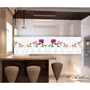 Стикер пано за гръб на кухня - Орхидеи 14