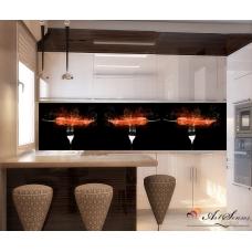 Стикер пано за кухня - Люти чушки