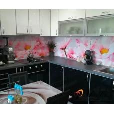 Стикер пано за кухня - Хризантеми 2