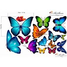"Промопакет ""Вишневи цветове с пеперуди"""