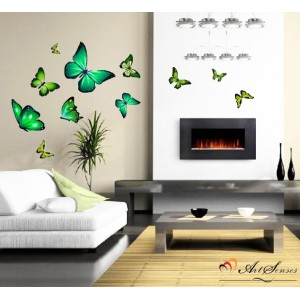 Пеперуди зелени